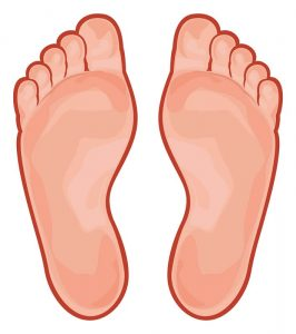 home remecies for athlete's foot illustration
