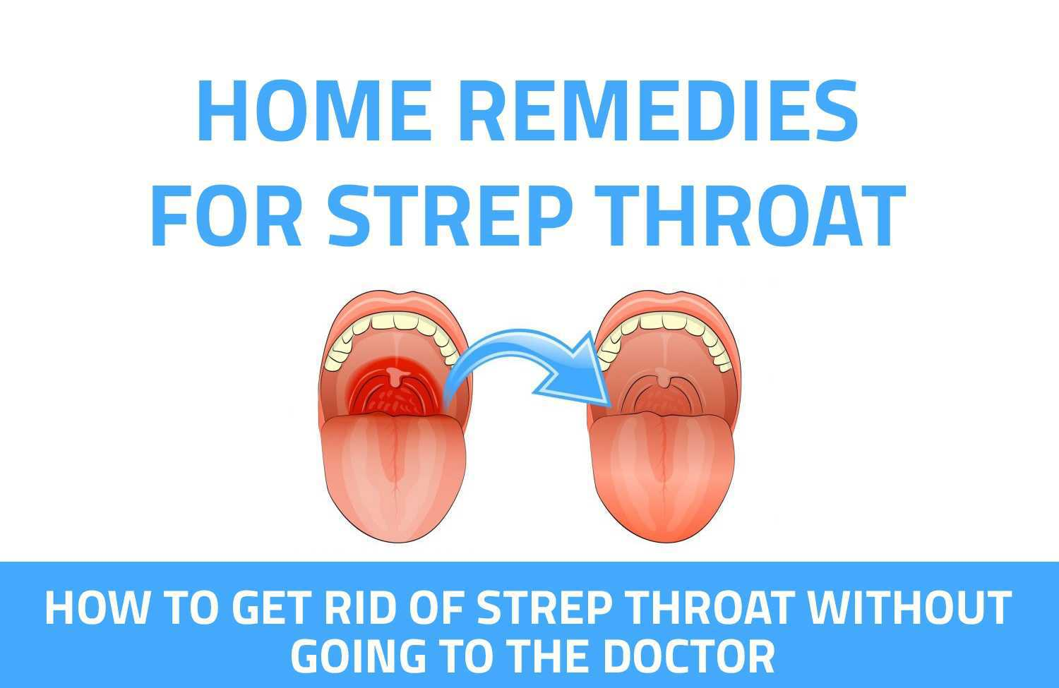 15 Home Remedies For Strep Throat Infographic Home Remedy Book
